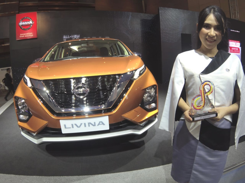 All New Nissan Livina LMPV Pintar Favorit Pengunjung di Telkomsel IIMS 2019