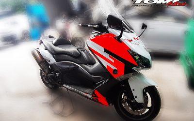 Yamaha TMax Ini Digeber Ribuan Kilometer Lintas Negara