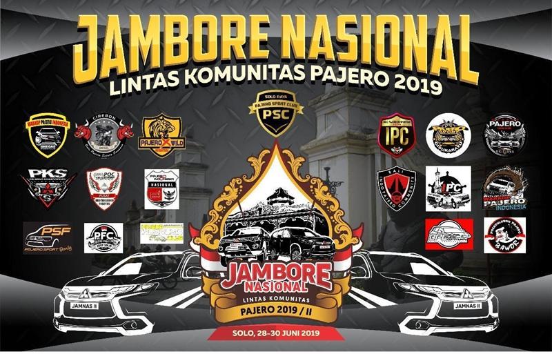 Partisipasi Pajero Sport Family di Jamnas Pajero