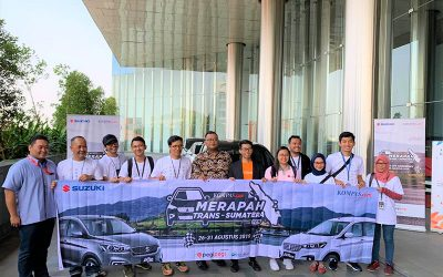 Suzuki Kawal Merapah Trans Sumatera