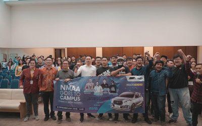 UNTAR Kampus Perdana yang Disambangi NMAA Goes to Campus 2019