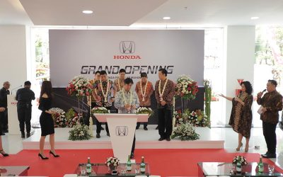 Honda Resmikan Dealer Baru di Surabaya