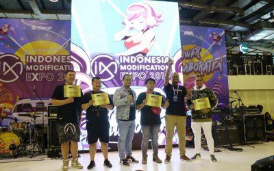 Juara-juara Modifikasi IMX 2019