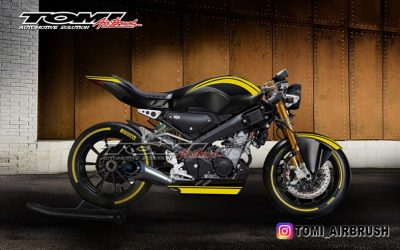Cara Edan Bikin Yamaha All New XSR 155 Jadi Keren