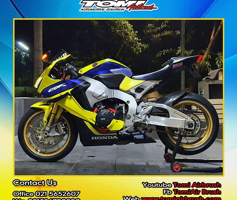 Honda CBR1000 Jadi Makin Sporty Berkat Balutan Sticker