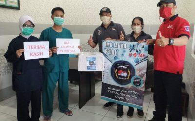 Indonesia Max Owners Donasi APD ke Rumah Sakit
