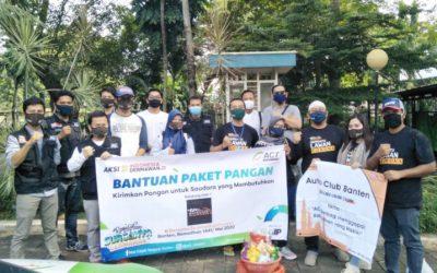Auto Club Banten dan ACT Salurkan Bantuan Terkait Pandemi Covid-19