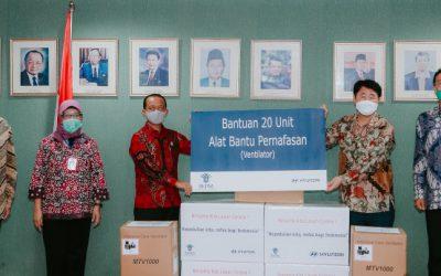 Hyundai Lanjutkan Program Donasi 20 Ventilator