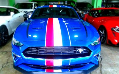 Logo Jadi Ide Dasar Modifikasi Cutting Sticker Ford Mustang GT