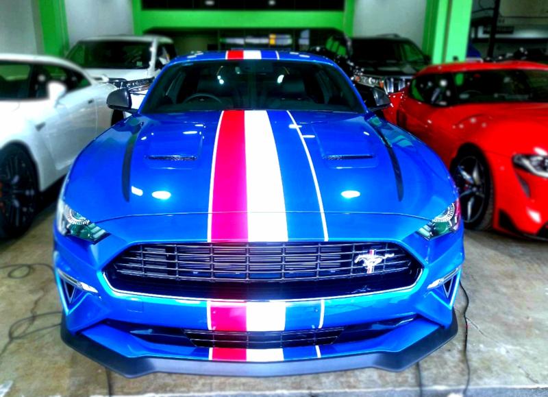Logo Jadi Ide Dasar Modifikasi Cutting Sticker Ford Mustang GT