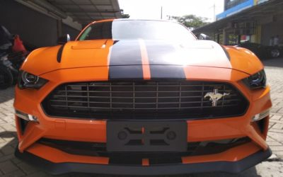 Modifikasi Cutting Sticker Ford Mustang GT