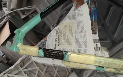 Tomi Airbrush Makin Piawai Reparasi Sepeda