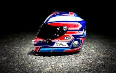 Gael Julien Modifikasi Helm di Tomi Airbrush