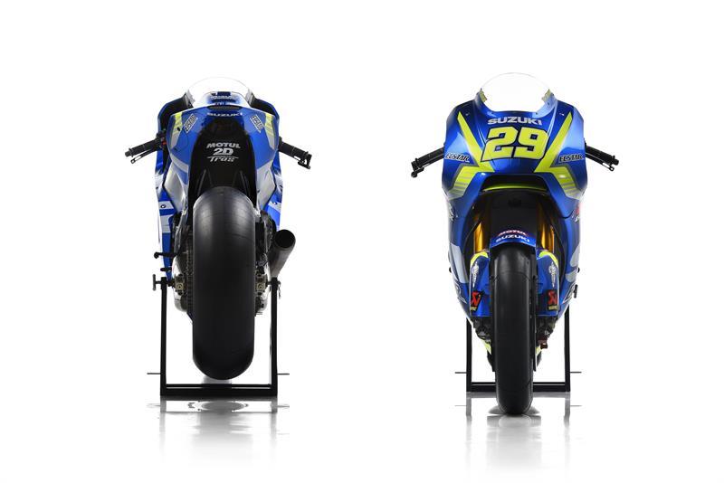 Motor Suzuki GSX-RR 1000 MotoGP milik Tim Suzuki Ecstar.