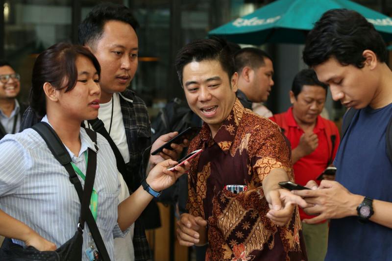 Tomi Gunawan saat wawancara dengan sejumlah Jurnalis otomotif di sebuah ajang kontes modifikasi pabrikan, akhir tahun 2016.
