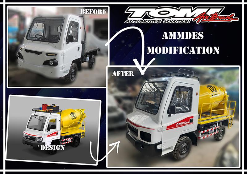 Dibalik Layar Prototype Desain AMMDes Mini Mixer