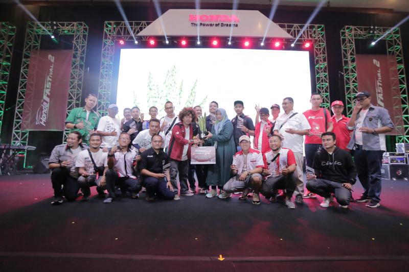 Komunitas Honda Sumbang Pohon Bentuk Peduli Lingkungan