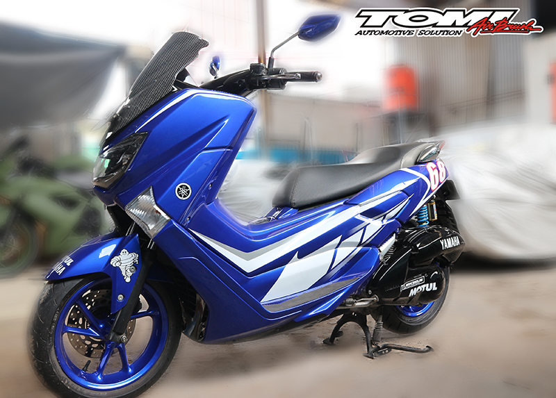 Modifikasi Airbrush Yamaha NMax