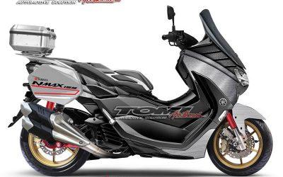 Gokil Abiss Modifikasi Yamaha All New NMax Ala Tomi Airbrush