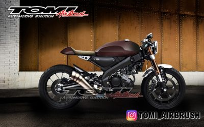 Ada-ada Saja Yamaha All New XSR 155 Sudah Dimodifikasi Cafe Racer