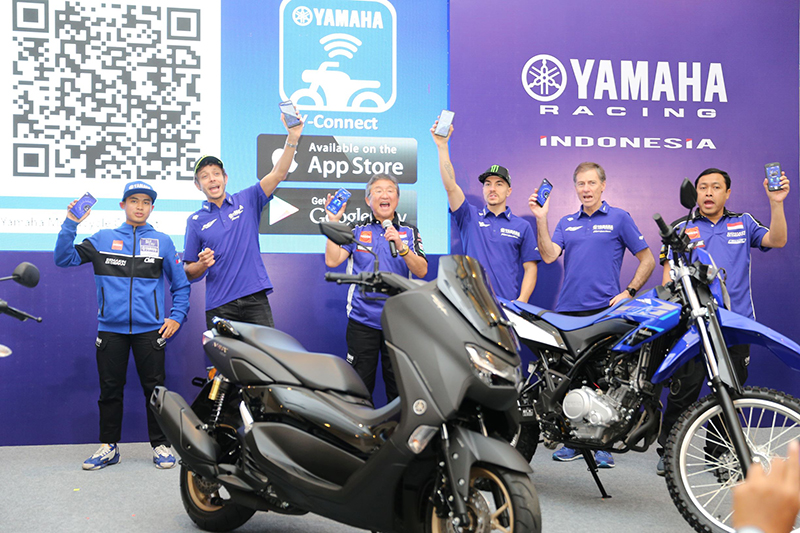 Launching Aplikasi Y-Connect dan Harga Yamaha All New NMax 155 Connected/ABS