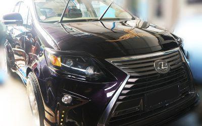 Toyota Kijang Innova Berubah Tampang Jadi Lexus