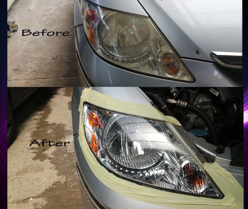Cara Gampang Bikin Lampu Mobil Jadi Baru