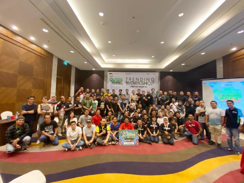 NMAA Trending Workshop Hadir di Pekanbaru