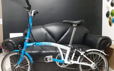 Pengecatan Sepeda Brompton