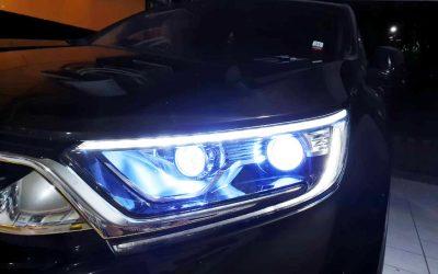 Custom Lampu Mobil di Tomi Airbrush