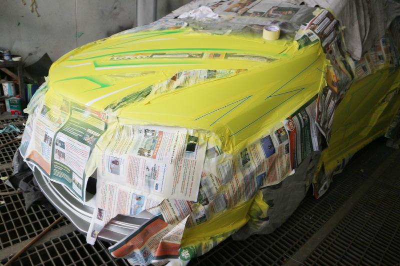 Mobil-mobil Modifikasi yang Siap Meluncur dari Tomi Airbrush