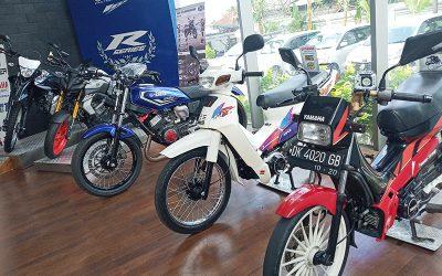 Pesona Yamaha F1Z Memancar di Bali