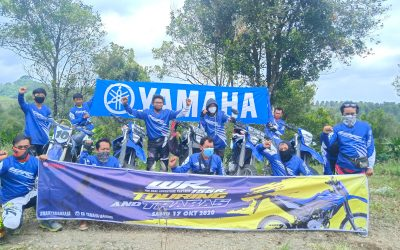 Fun Adventure Touring Rangsang Komunitas Yamaha WR 155 R di Jawa Timur
