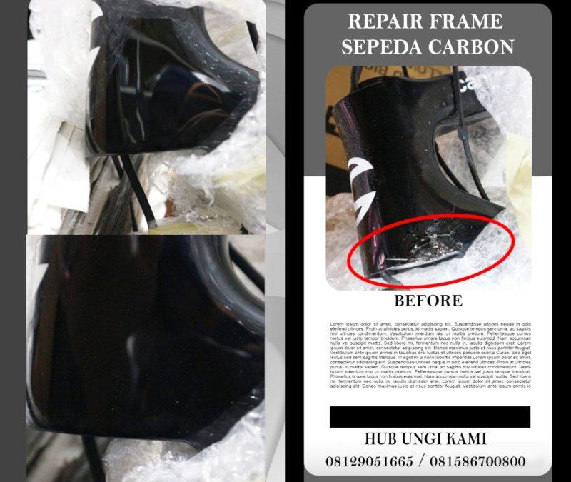 Ini Bengkel Tepat untuk Repair Frame Sepeda Carbon