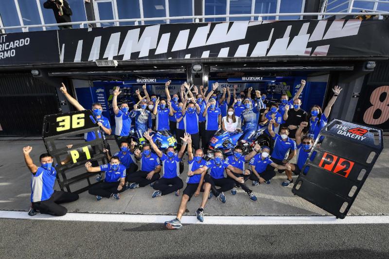 Team Suzuki Ecstar Berjaya di MotoGP Eropa 2020
