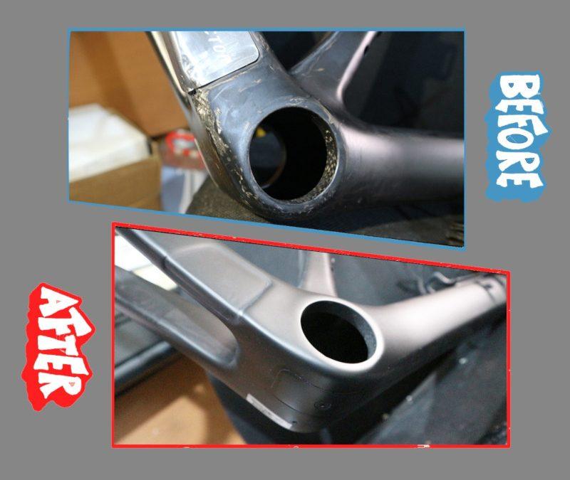 Perbaikan Frame Sepeda Carbon BMC