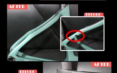 Cara Repair Frame Carbon Sepeda Pinarello F12 Agar Dapat Dipakai Kembali