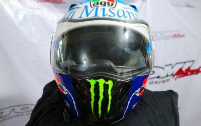 Modifikasi Helm Konsep Valentino Rossi