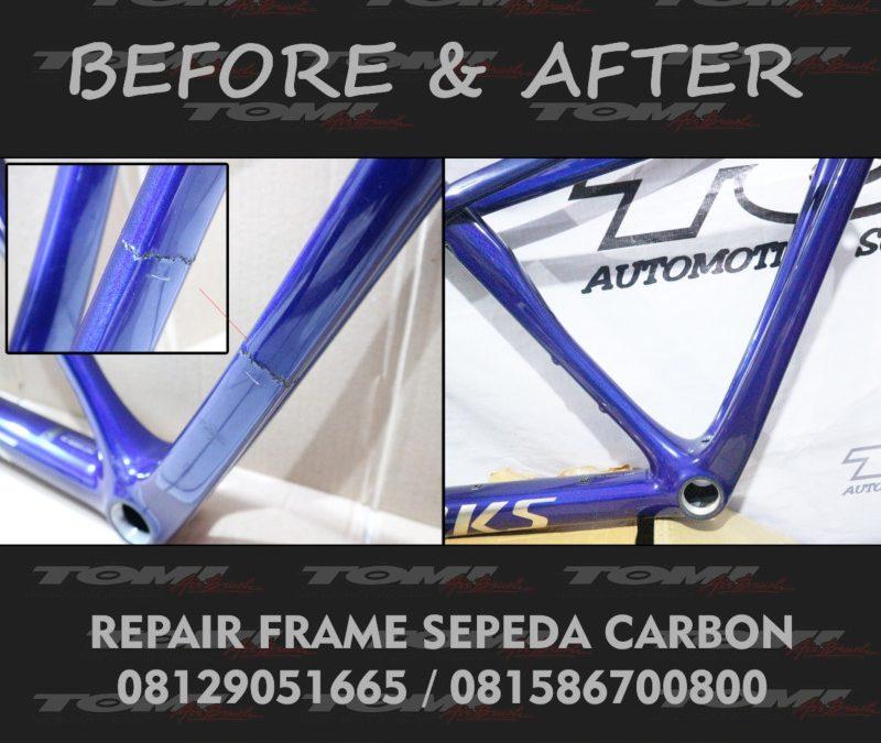 Repair Frame Sepeda Bahan Carbon Kevlar