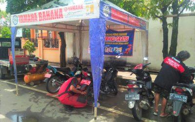 Yamaha Berikan Servis Gratis Bagi Pelanggan Terdampak Banjir