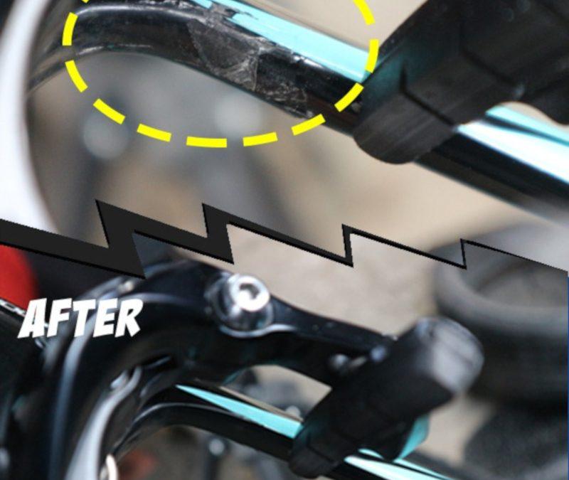 Tomi Airbrush Jagonya Repair Frame Sepeda Carbon