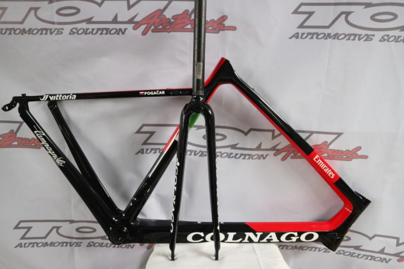 Sepeda Colnago Dari Retak Frame Jadi Ciamik!