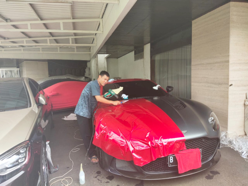 Wrapping Sticker Aston Martin