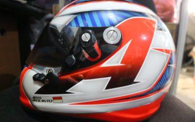 Modifikasi Airbrush Helm Arai