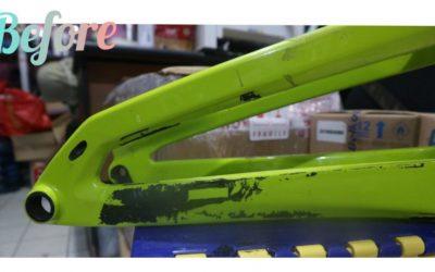 Repair Frame Carbon Sepeda Downhill