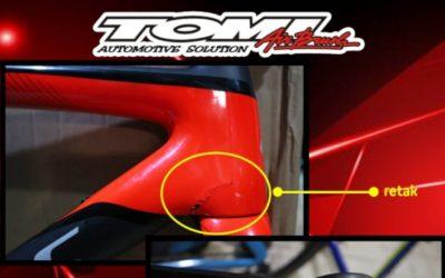 Repair Sepeda Carbon Branded di Tomi Airbrush